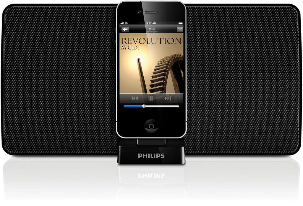 Nauti iPodin/iPhonen musiikista