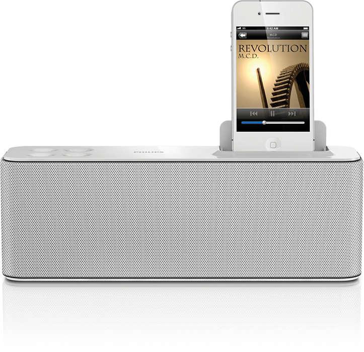 Bucuraţi-vă de muzică cu dispozitivul dvs. iPod/iPhone