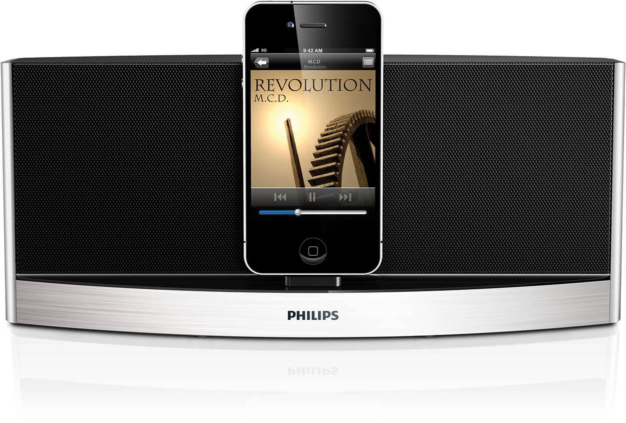Nautige muusikat oma iPodist või iPhone'ist.