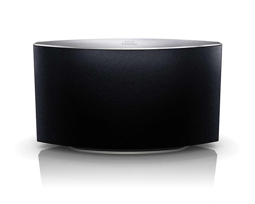 Opplev fyldig, naturlig lyd