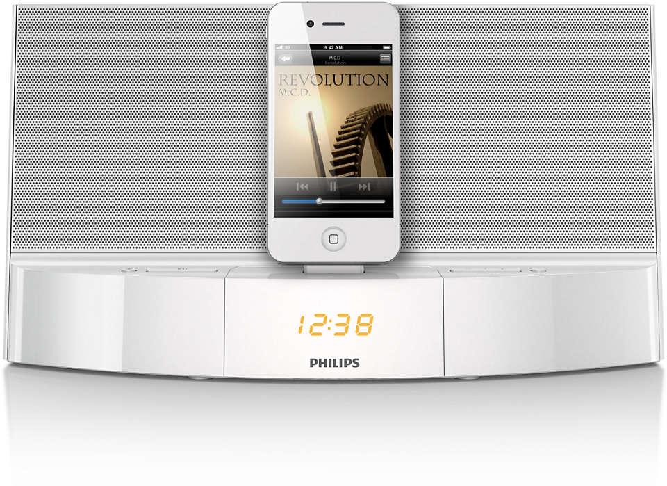 Musik fra din iPod/iPhone