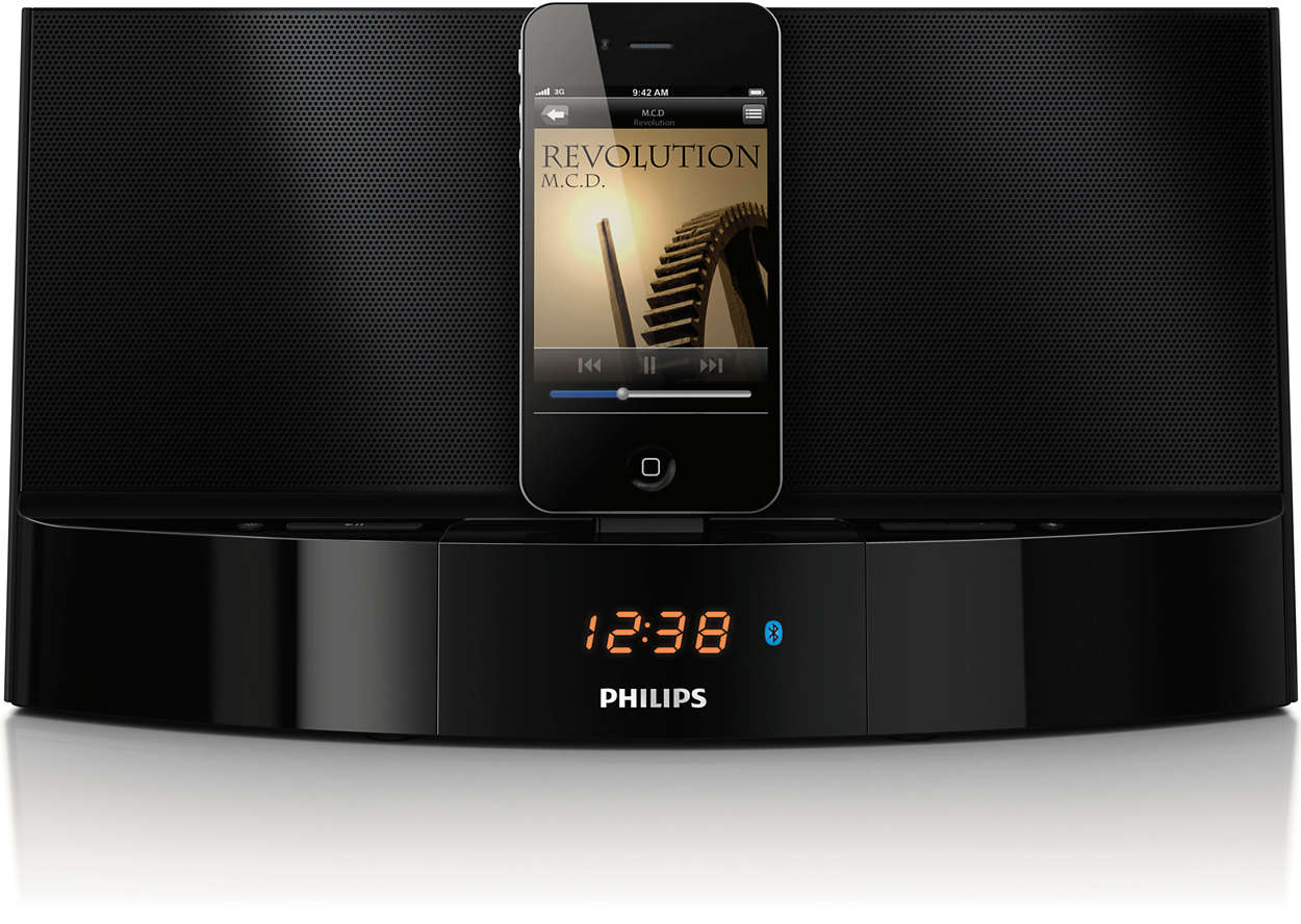 Music from your iPod/iPhone wirelessly