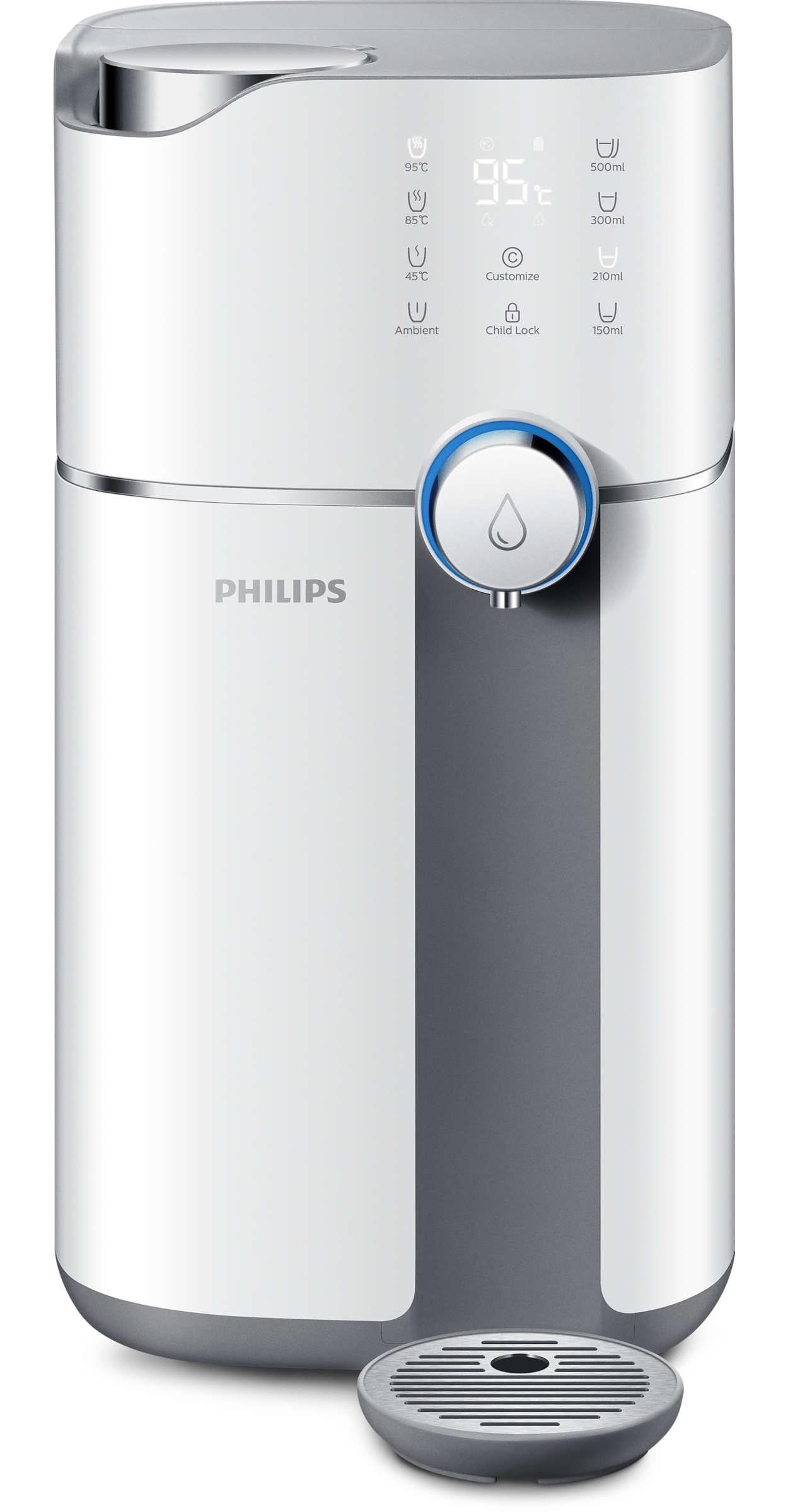 Purified water of various temperature