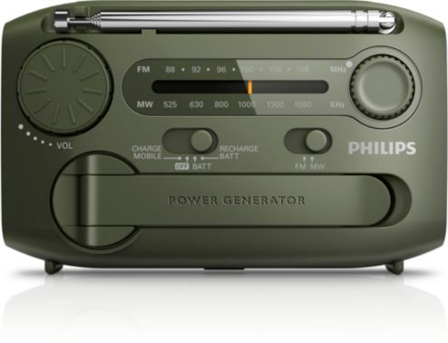 Portable Radio Ae1120 00 Philips