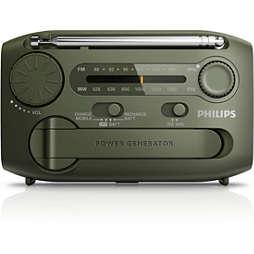 便攜式收音機