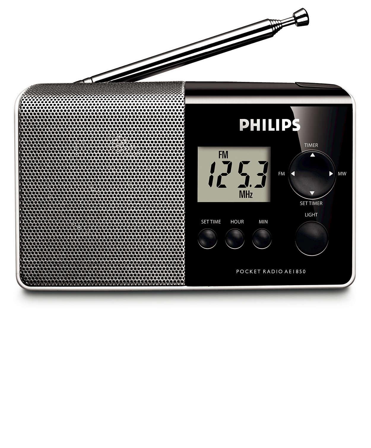 Una radio para escuchar vayas donde vayas