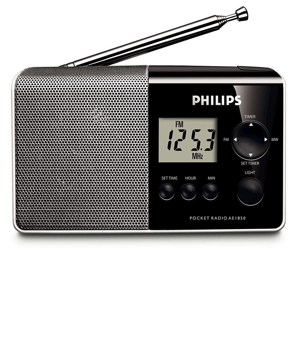 Een radio voor onderweg