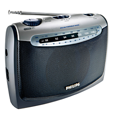 AE2160/00C  راديو محمول