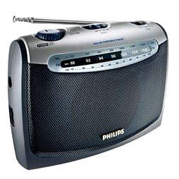 Kannettava radio