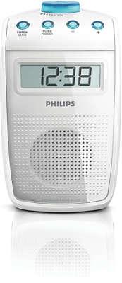 Badezimmer radio  Spritzwasser geschütztes Badezimmer-Radio AE2330/00 | Philips