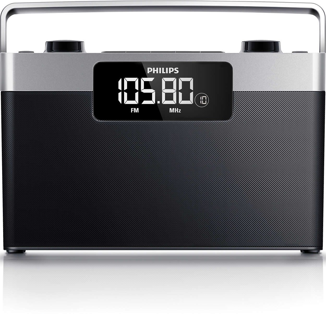 Radio portable ae2430 12 philips for Radio numerique portable