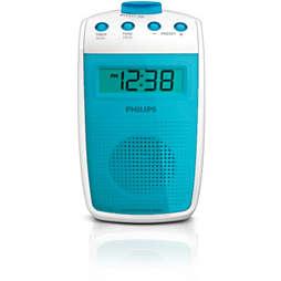 Radio para el cuarto de baño