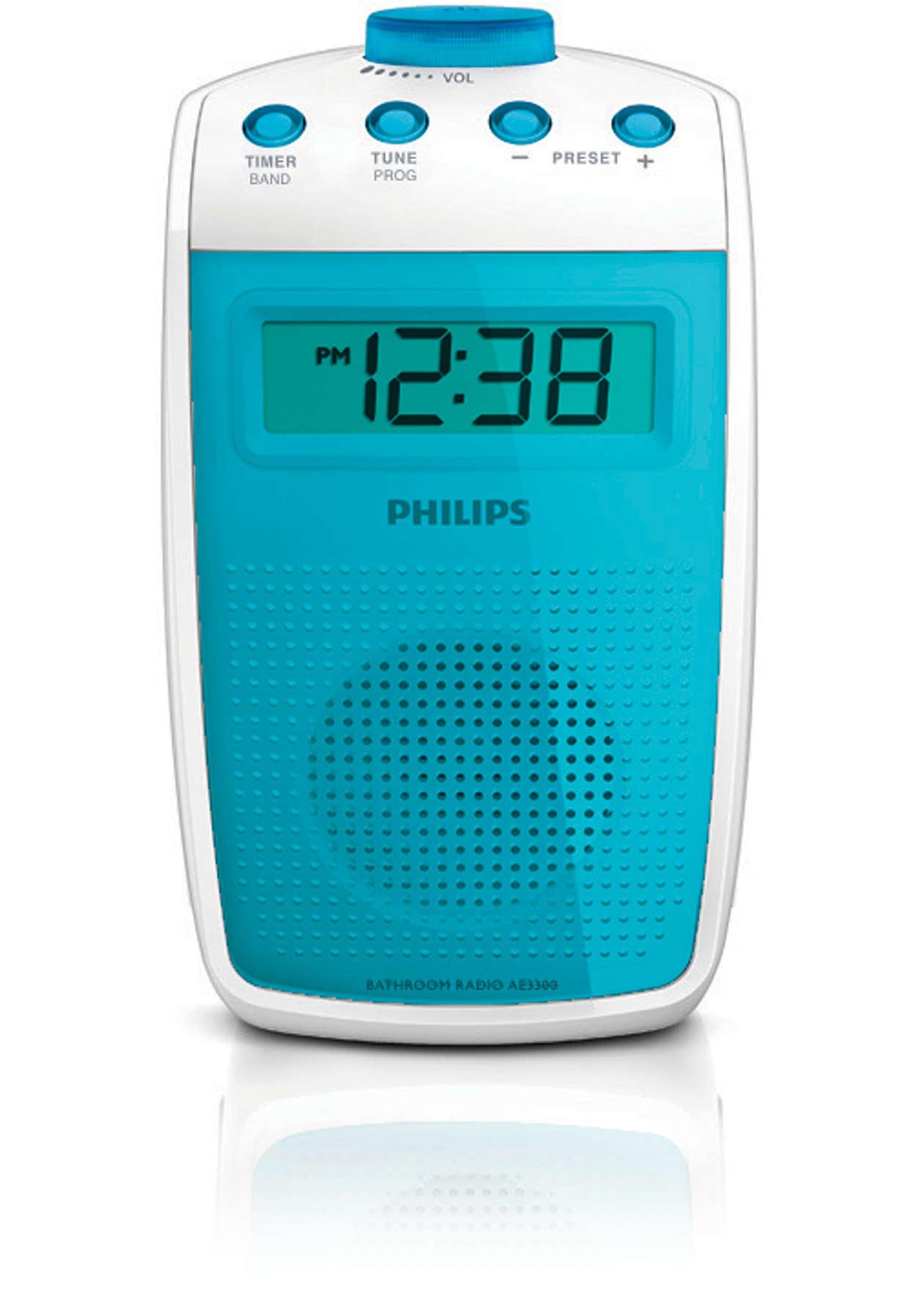 Badkamerradio AE3300/00 | Philips
