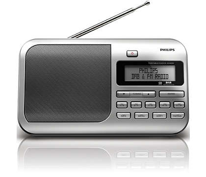 Great sound from DAB radio anywhere