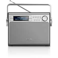 AE5020B/12  Draagbare radio