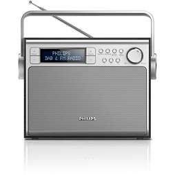 Bärbar radio