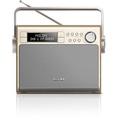 AE5020/12  Přenosné rádio