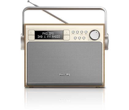Lieliska skaņa no DAB+ radio jebkurā vietā