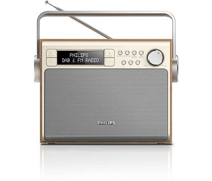 Sunet excelent de la radio-ul DAB+ oriunde