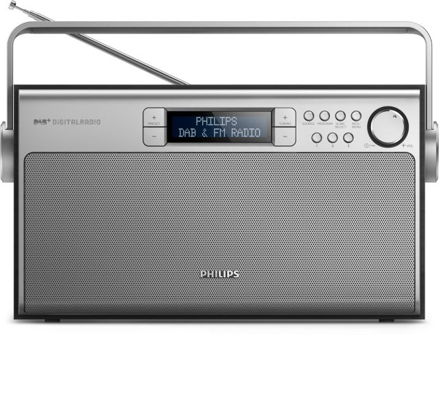 Philips DAB+ Kofferradio AE5220 (AE5220B/12)