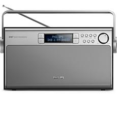 AE5220B/12 -    Draagbare radio