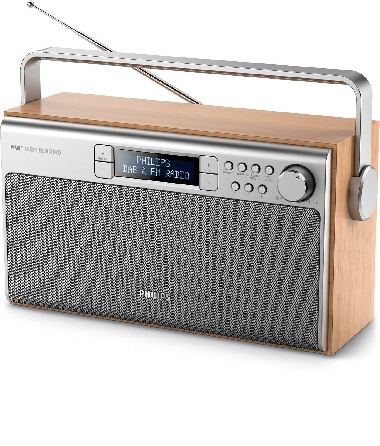 portable radio ae5220 05 philips