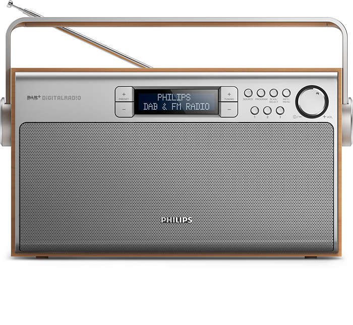 Audio eccellente dalla radio DAB+ ovunque