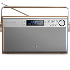 AE5220/12  Draagbare radio