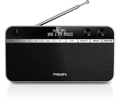 Отличное качество звука радиостанций DAB+ везде и всегда