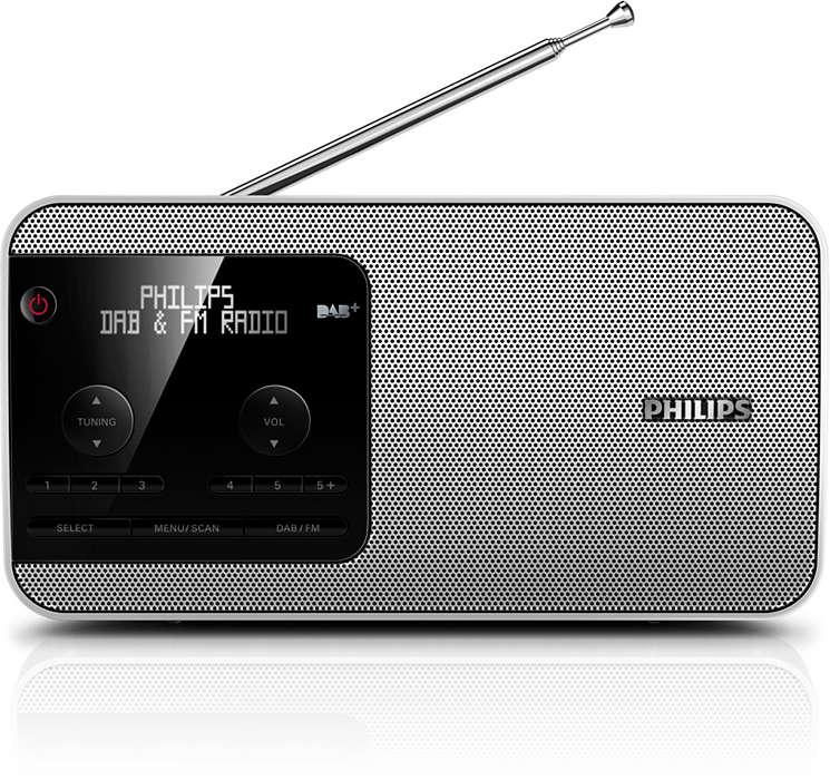 Élvezze a hordozható DAB+ rádiót útközben!