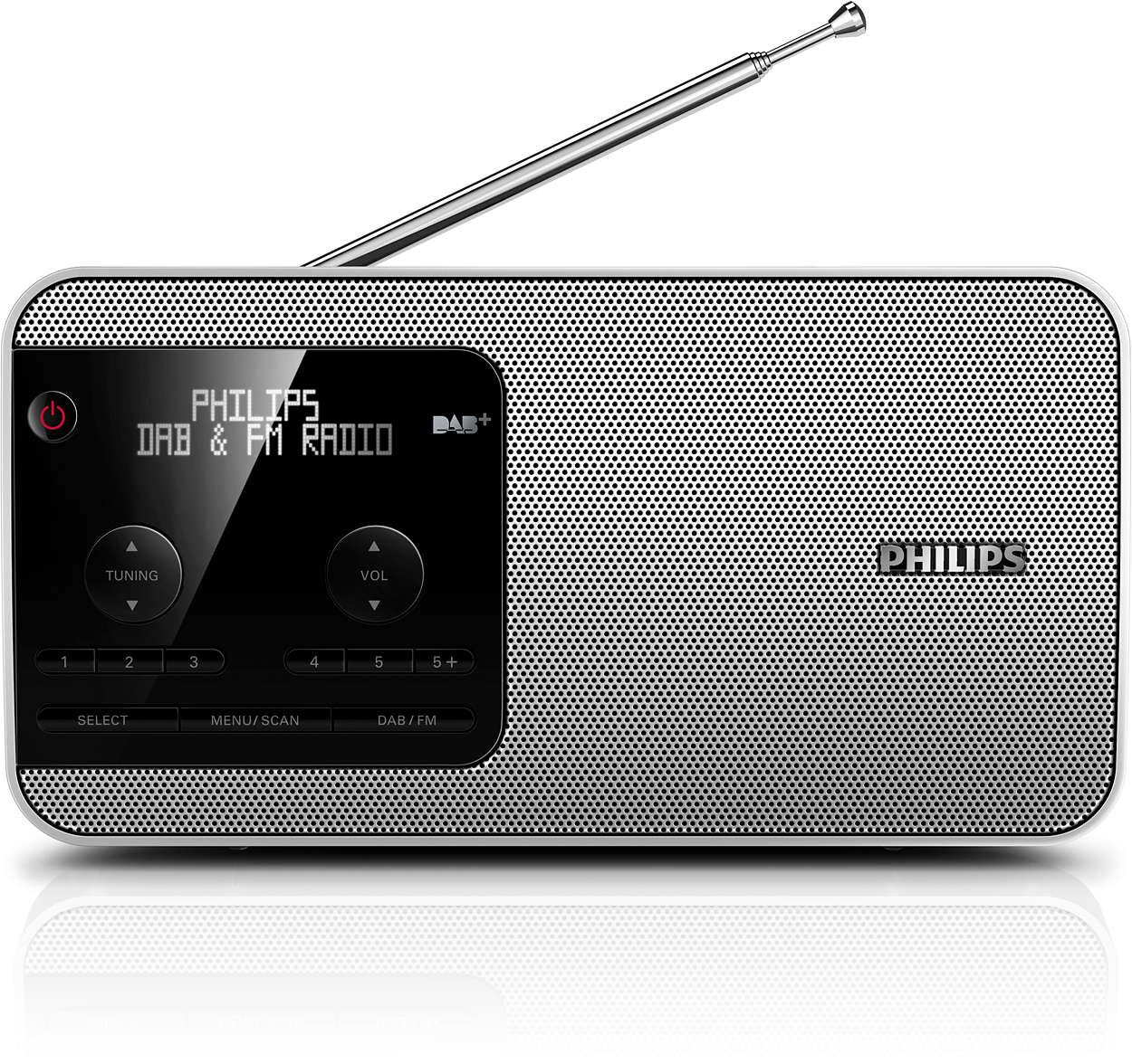 Vychutnajte si rádio DAB+ kdekoľvek!