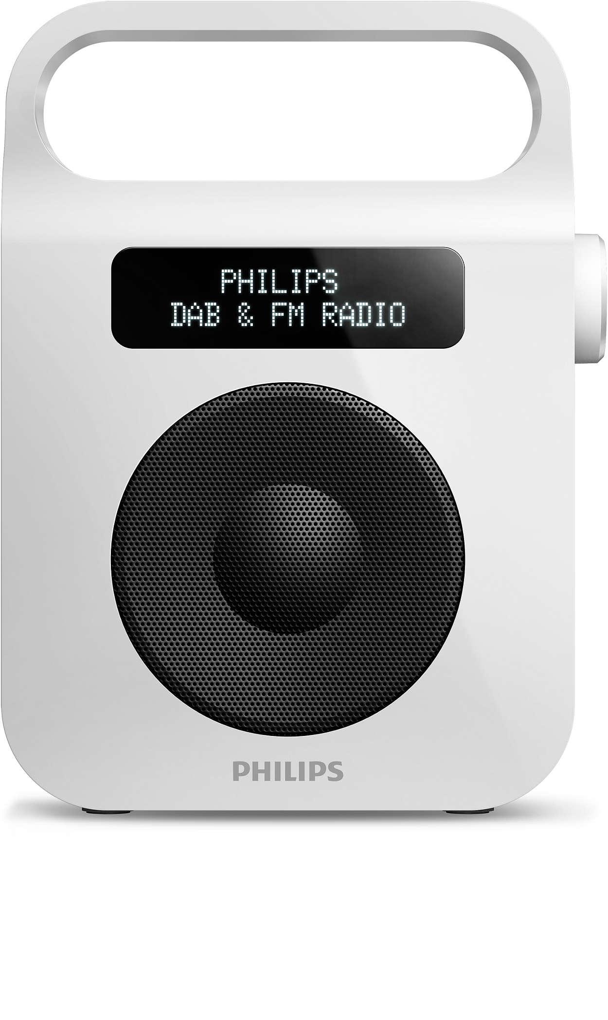 Geniet van uw favoriete radioprogramma's