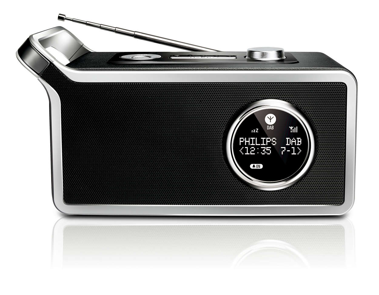 Digital radio with crystal clear sound quality
