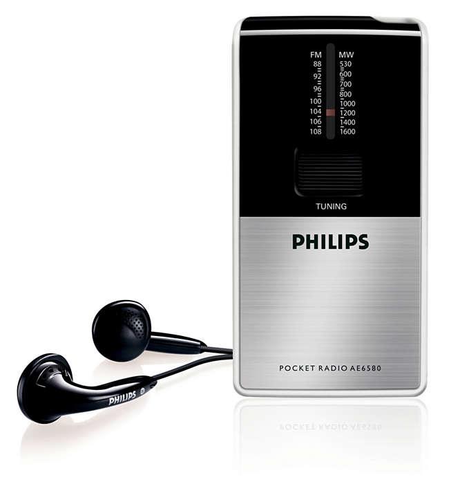 Portable radio on the go