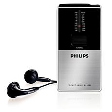 AE6580/00 -    Radio portatile