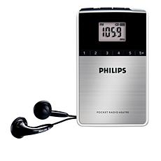 AE6790/00  Přenosné rádio