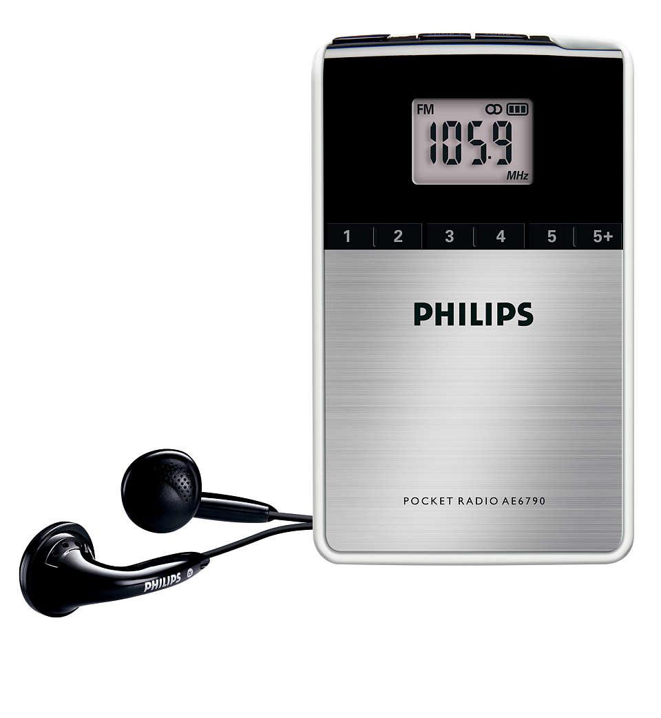Digitales Radio für unterwegs