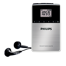AE6790/00  Radio portable