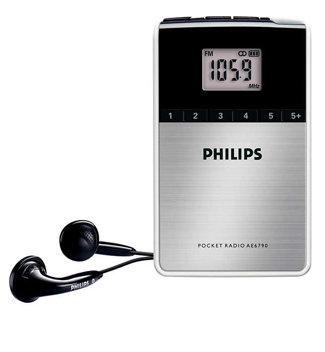 Taşınabilir dijital radyo