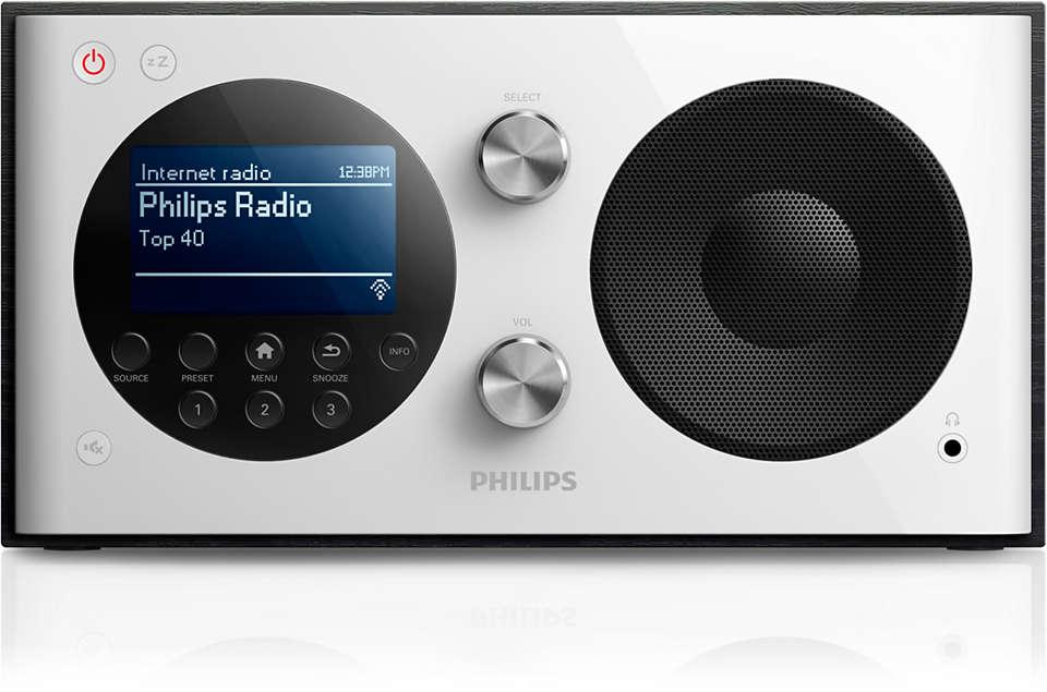 Genießen Sie Tausende kostenlose Internet-Radiosender