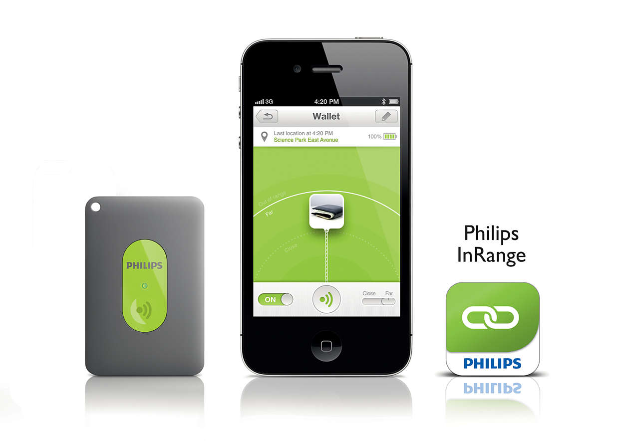Philips InRange kablosuz teknolojisini kullanarak
