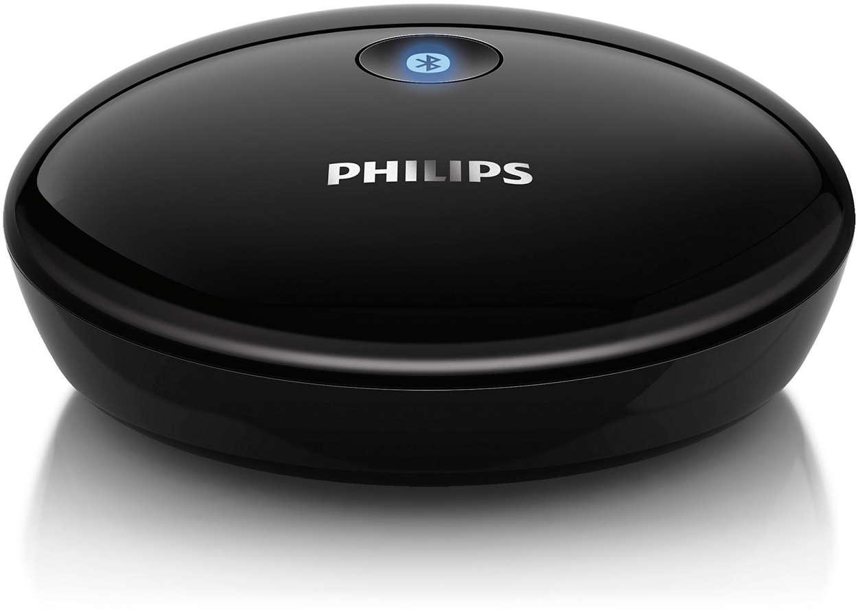 Spela upp musik trådlöst från en smartphone till Hi-fi