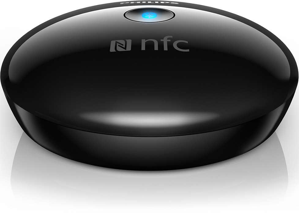 Reproduza música sem fios do smartphone para o Hi-Fi