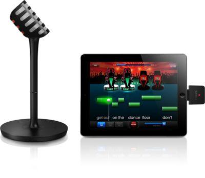 Můžete připojit mikrofon k přijímači