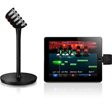 Ασύρματο μικρόφωνο και ηχείο Bluetooth