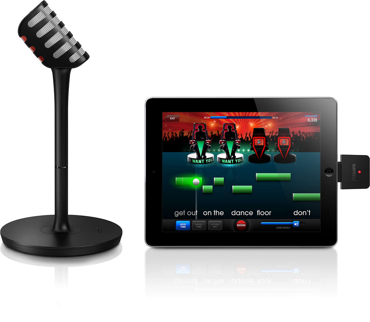 wireless microphone and receiver aea3000 00 philips