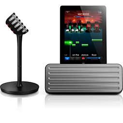 micro sans fil et enceinte Bluetooth®