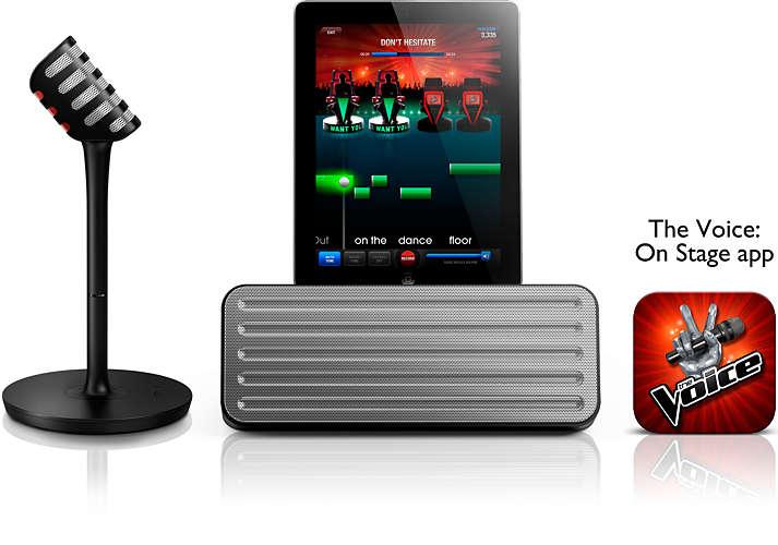 wireless microphone & Bluetooth® speaker