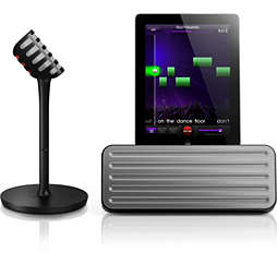 wireless microphone & Bluetooth® speaker