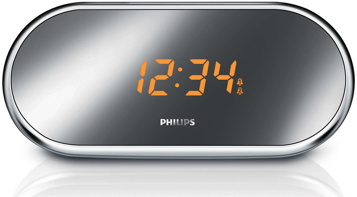 radio r veil avec tuner num rique aj1003 12 philips. Black Bedroom Furniture Sets. Home Design Ideas
